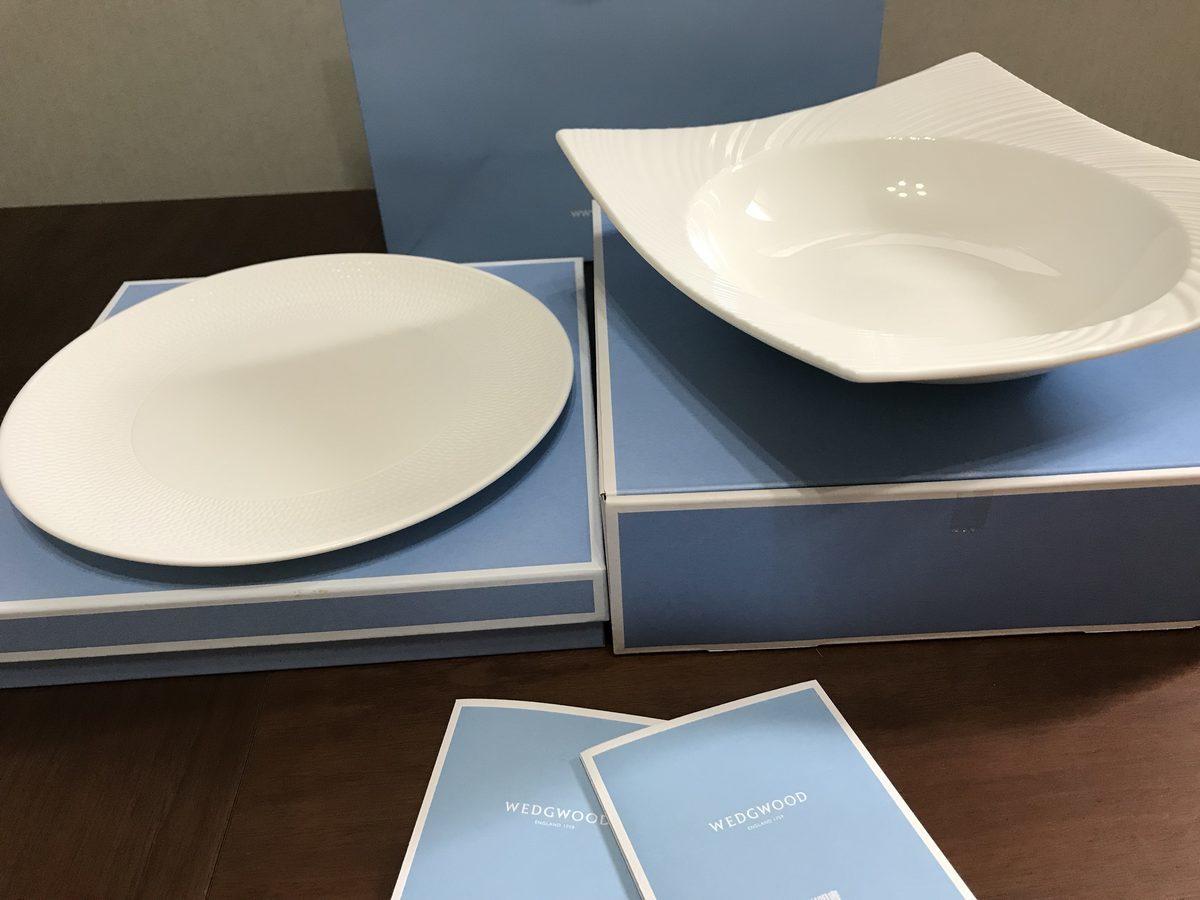 ウェッジウッドの皿