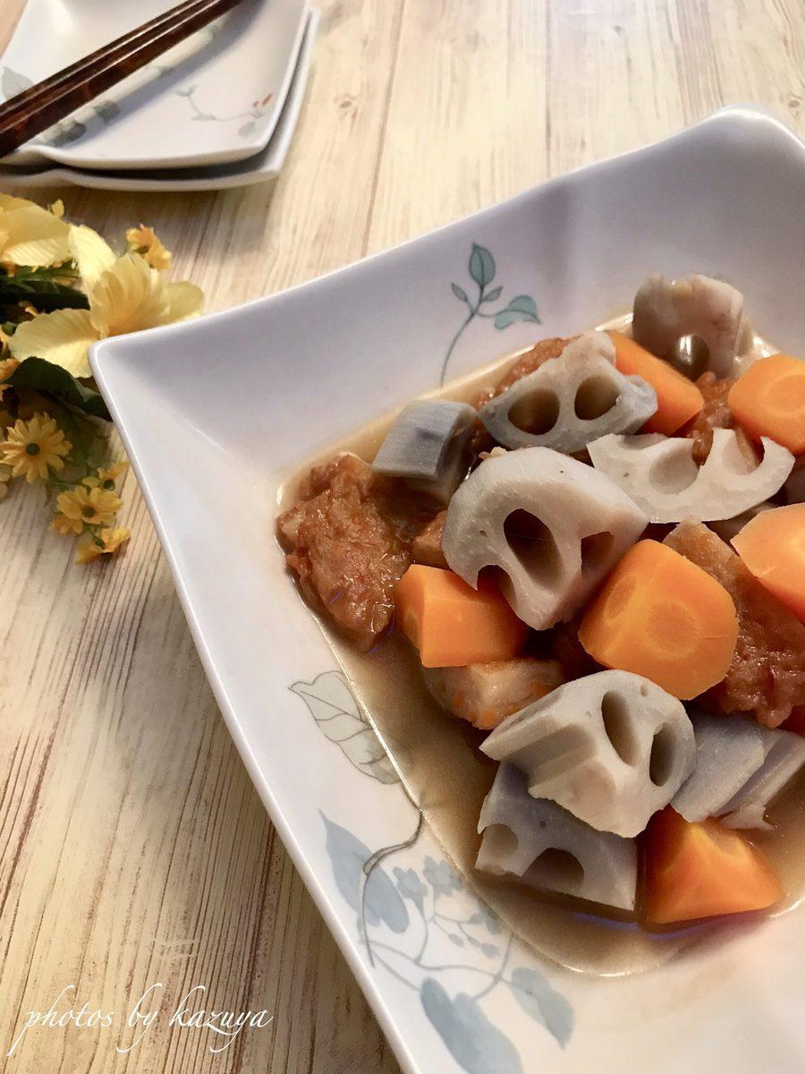 根菜とさつま揚げの煮物