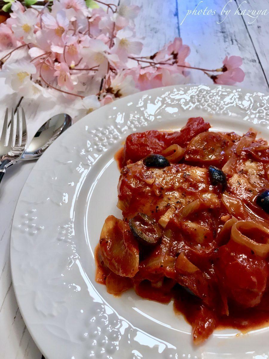 真鱈のトマト煮