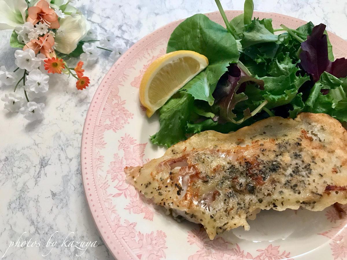 鱈の揚げないイタリアンフリッター