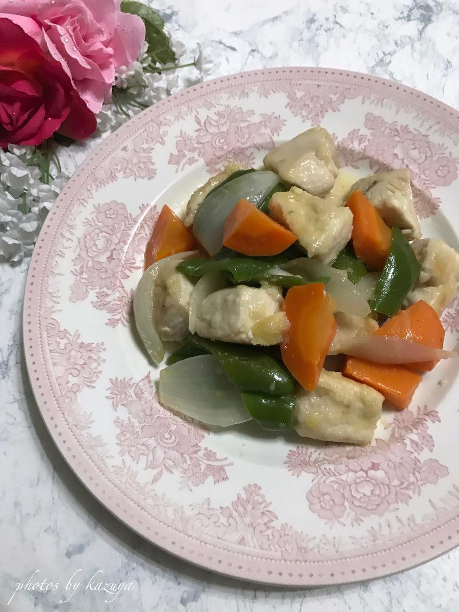 ミツカン カンタン酢で鶏むね肉と香味野菜のマリネ