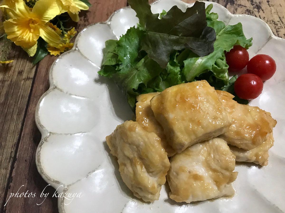 鶏むね肉で照り焼きチキン