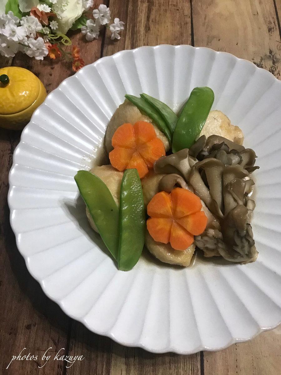 鶏むね肉と舞茸の治部煮風