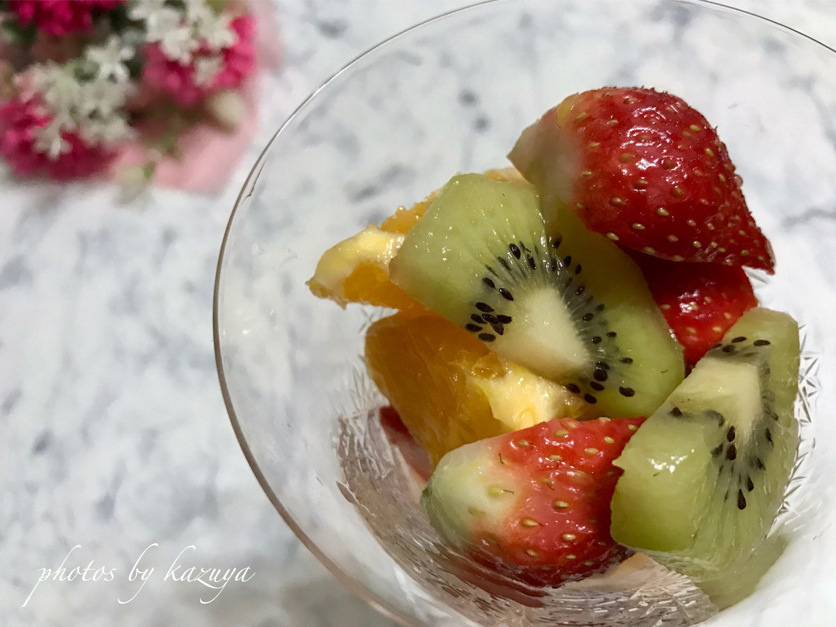 柚子が香るマチェドニア