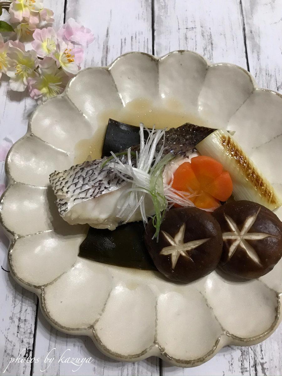 真鯛の昆布煮