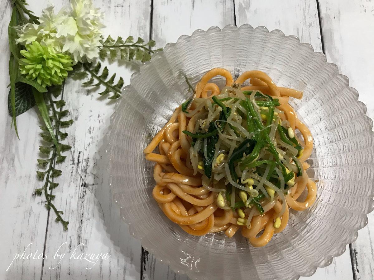 うどんdeビビン麺
