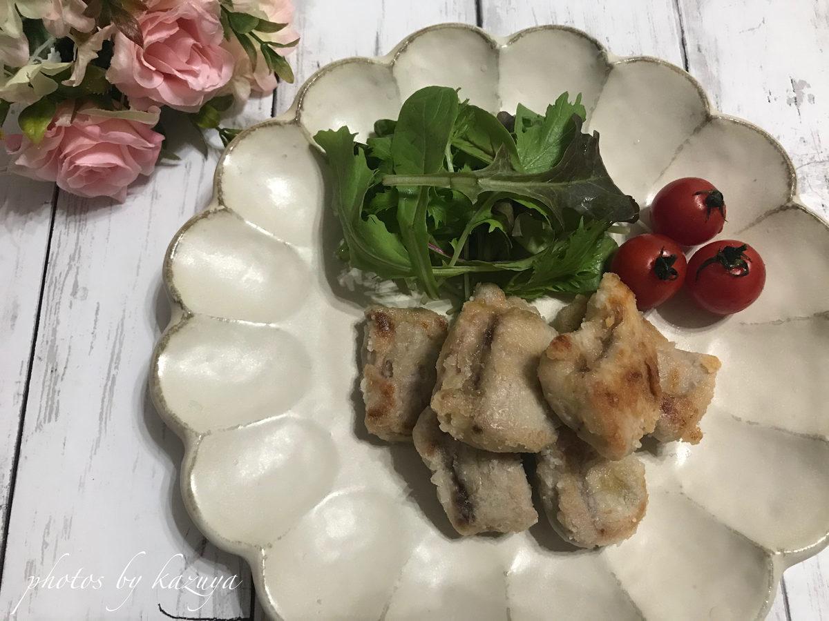 鮭の白子の唐揚げ