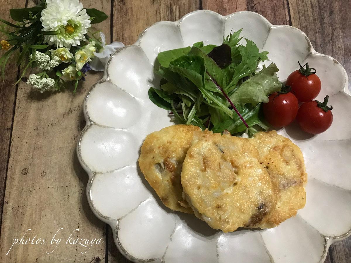ホタテの豆腐餅