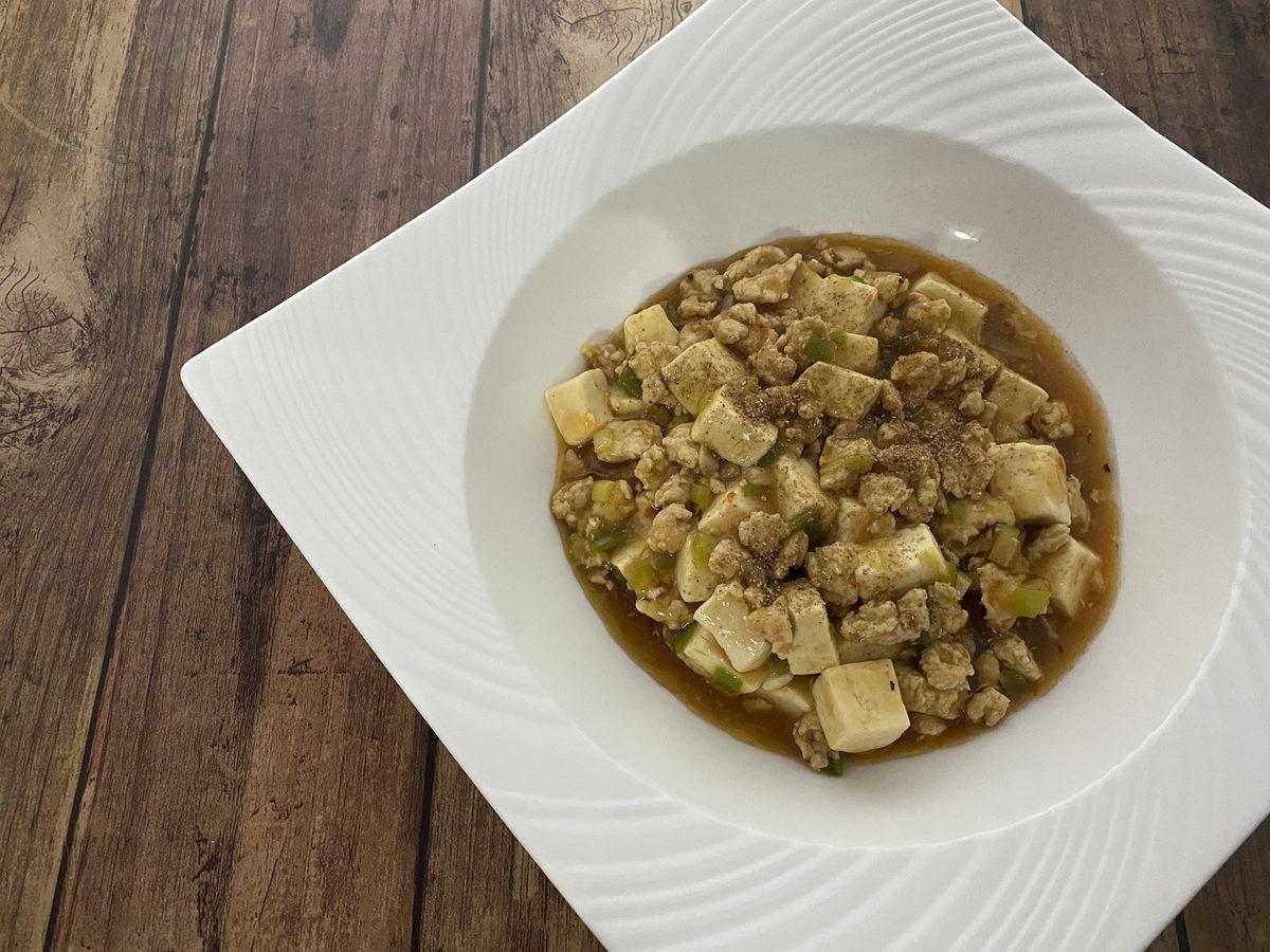 オイスターソースde麻婆豆腐
