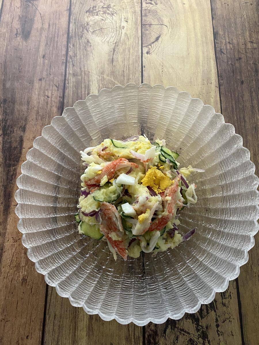 カニカマdeポテトサラダ