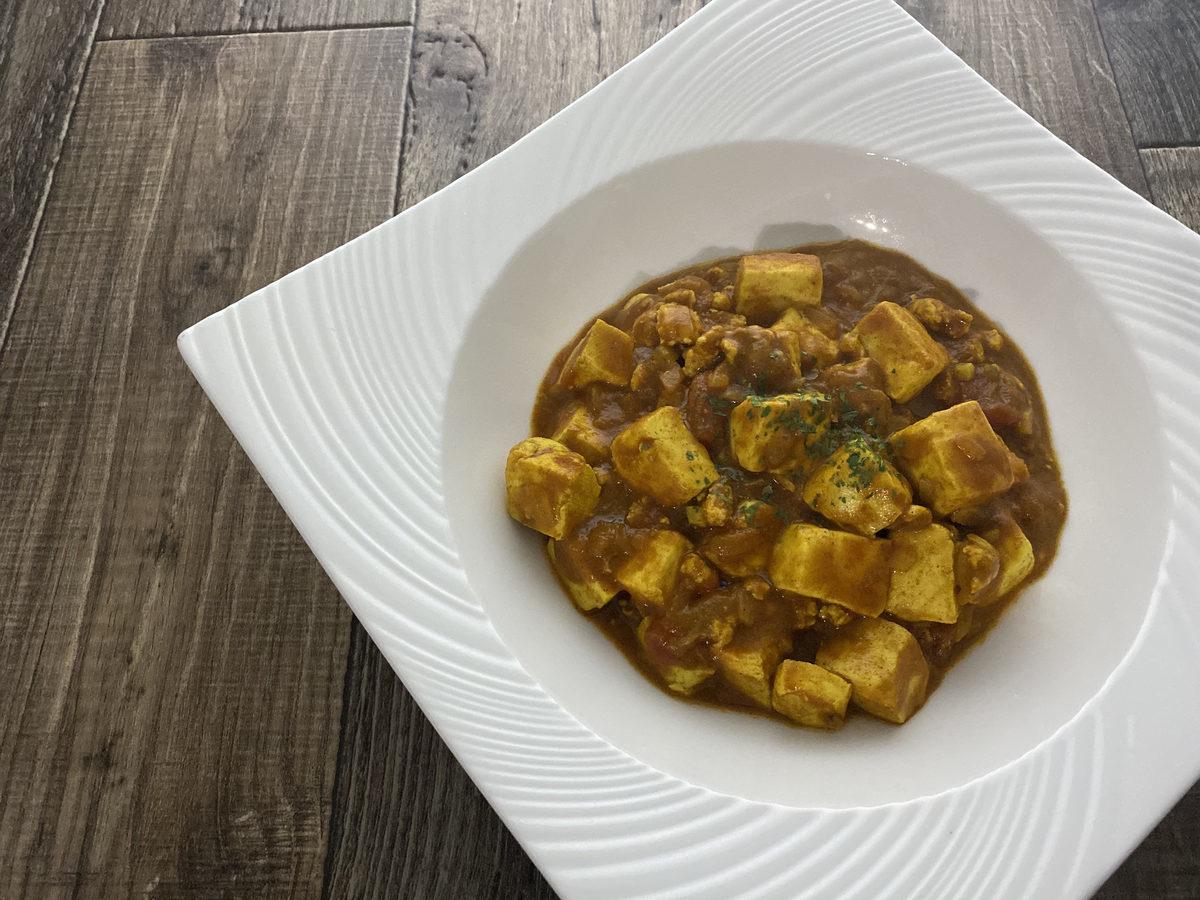 豆腐のトマトカレー