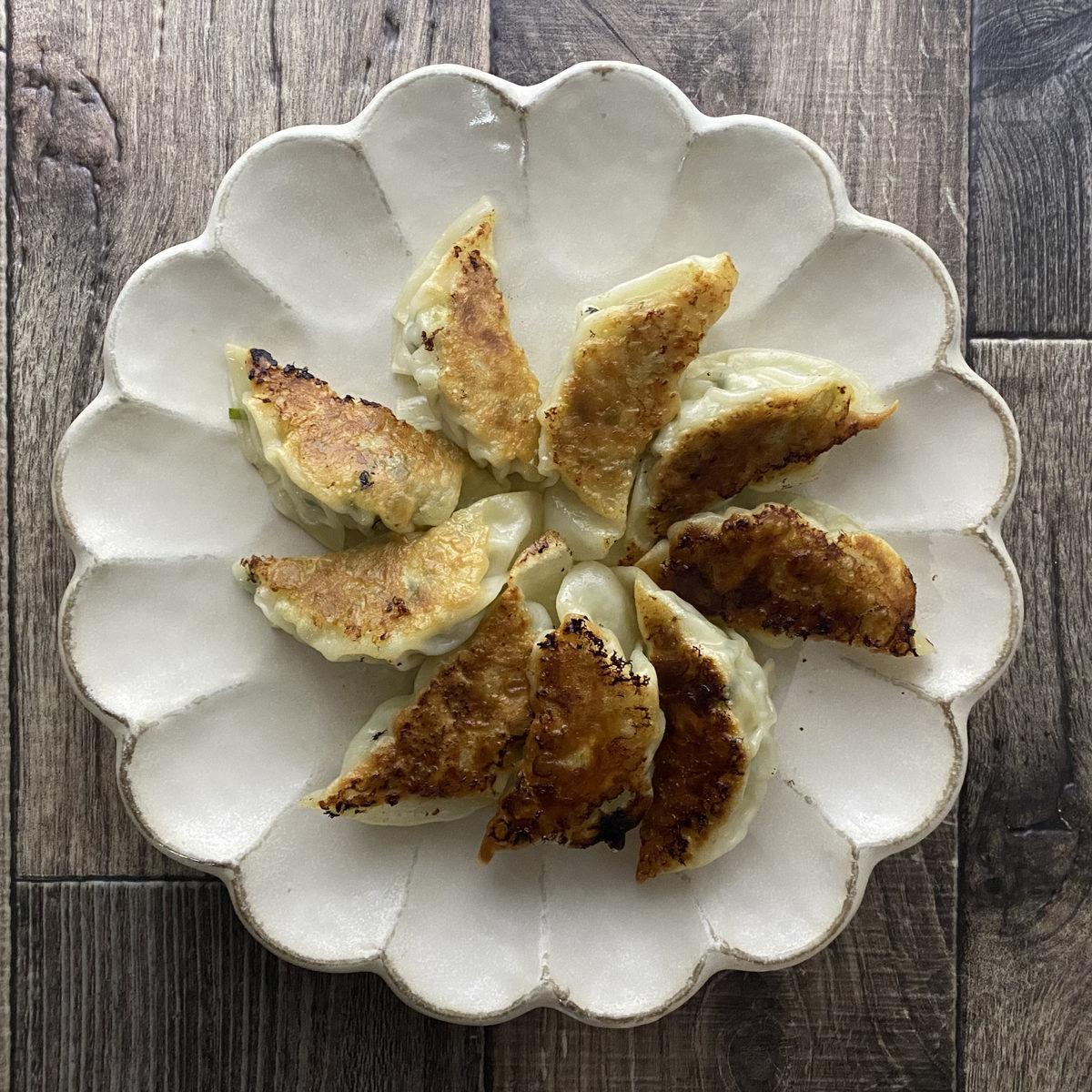 鶏むね肉deヘルシー餃子(改良版)