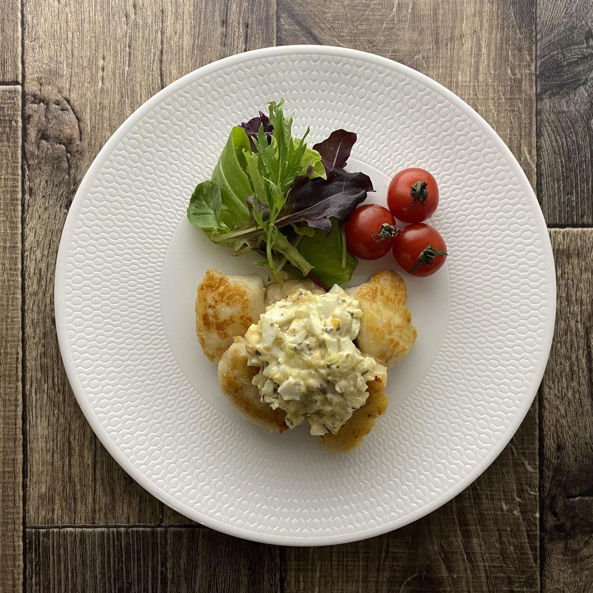 鶏むね肉の唐揚げ イタリアンタルタルソース