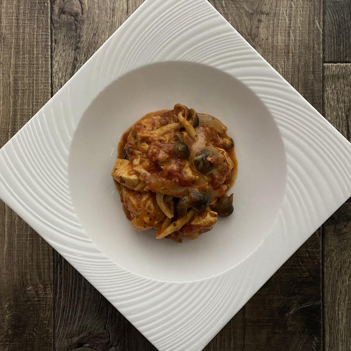 きのう何食べた?風の鶏むね肉のトマト煮