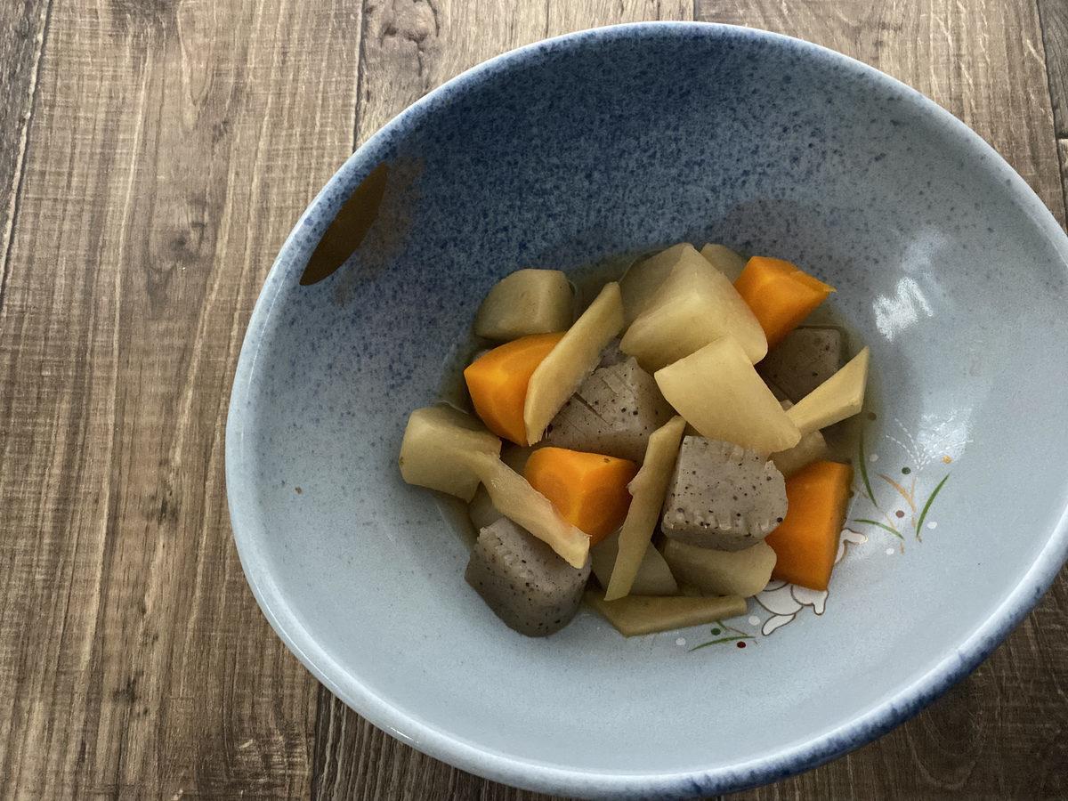 大根とこんにゃくの生姜煮
