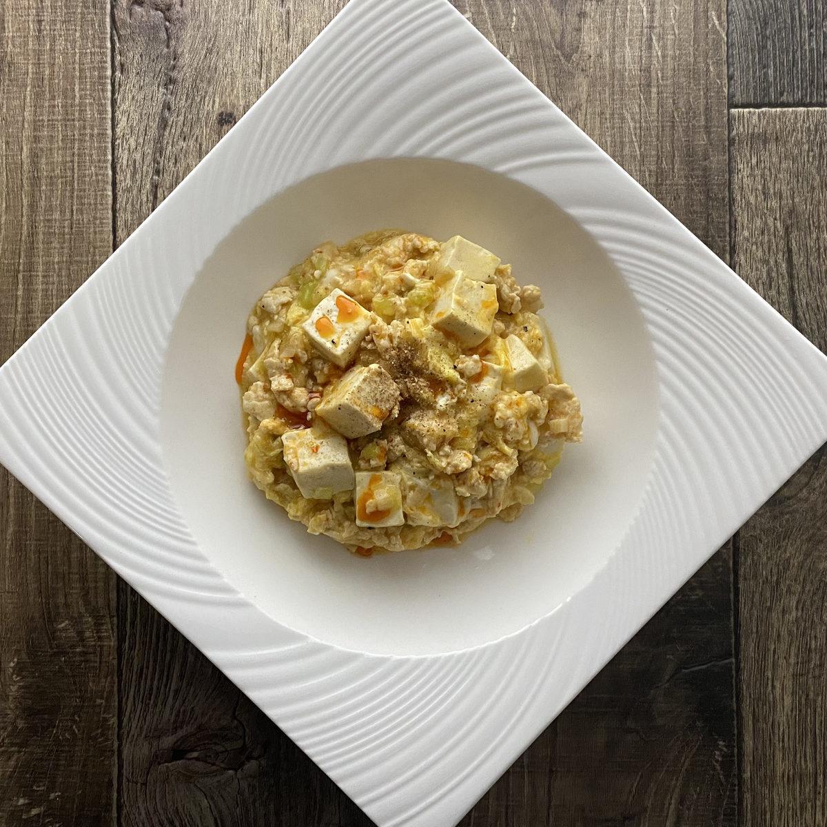 卵麻婆豆腐