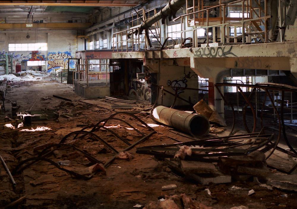 廃墟、Toulouse、2002年前後