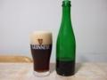 ベルギーのバッカスというビール。麦芽80%位なので日本では発泡酒