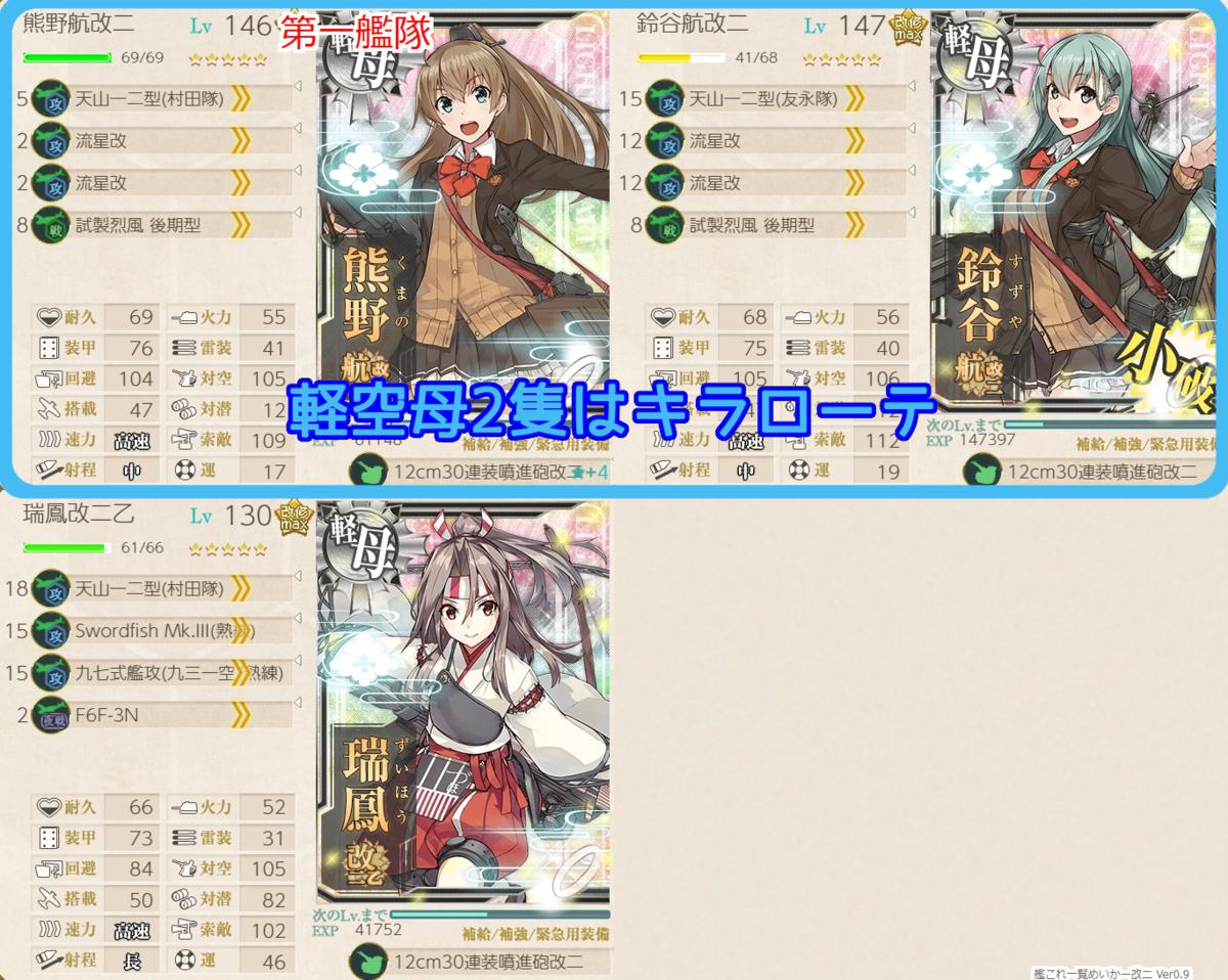 4-4編成(捨て艦3)