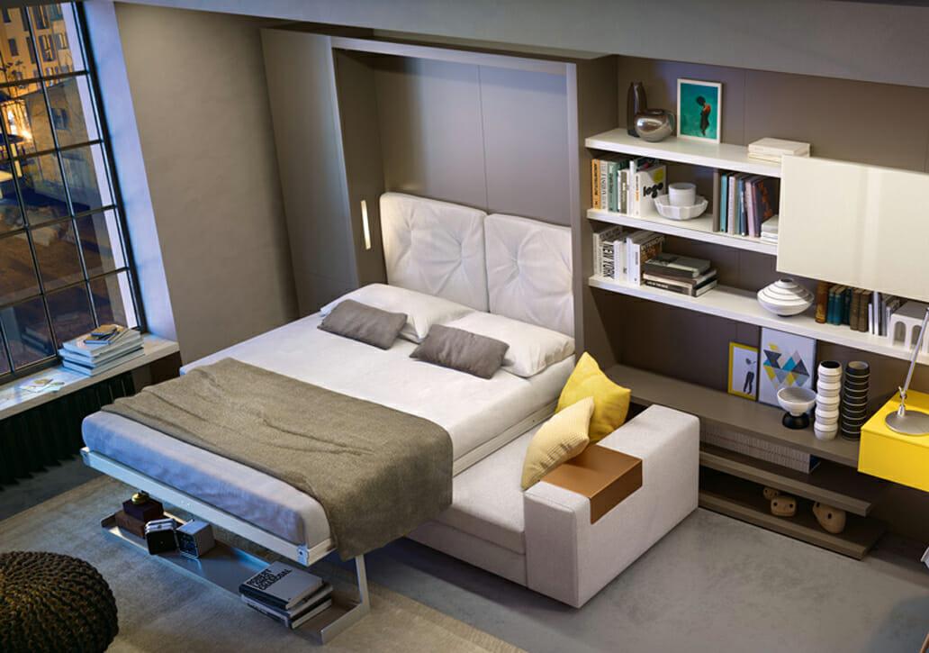 Giường ngủ đa năng giúp tiết kiệm tối đa không gian cho phòng ngủ - Giường gỗ cho phòng ngủ