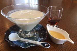 豆腐と豆乳の冷製スープ