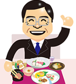 準備期間は和食中心の食事がおすすめ
