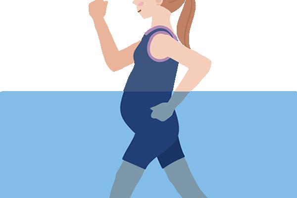 妊婦の便秘におすすめの運動具体例~産後ダイエットも楽になる?