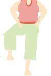 片足立ちで体幹年齢をチェックしてみましょう。あなたの体幹年齢は?