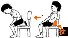 椅子から立ち上がる~腹筋と大腿筋を鍛える運動