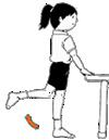 膝を曲げる~大腿の背側にある筋肉を鍛える運動