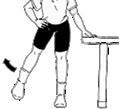 脚を側方にあげる~お尻、大腿の側部にある筋肉を鍛える運動
