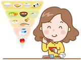 栄養ドリンクなどに頼らず、毎日の食事に疲れを取る成分を含む食材をバランス良く取る