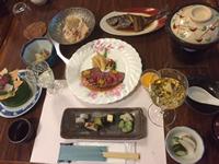 夕食は和食です