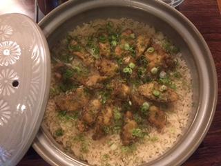 焼きホウボウの炊き込みご飯
