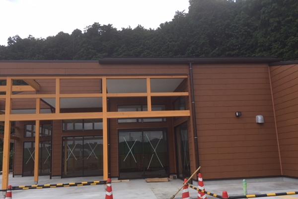 建設中の観光手芸施設