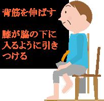 膝を引き上げ股関節を柔らかくする腰痛体操。腰の剃り過ぎを矯正するのにも良い。