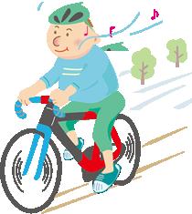 サイクリングはエアロビクス効果が高いスポーツ