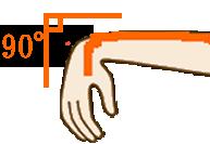 手首の動きをサポートするテーピングの仕方例