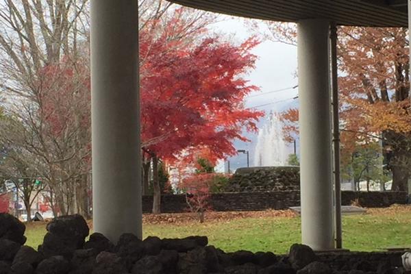 軽井沢の紅葉と晩秋の歴史散策にグルメと温泉~駅舎と旧軽そぞろ歩き