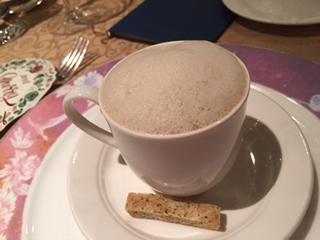 スープ カプチーノ風マッシュルーム