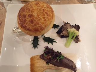 北海道産牛フィレ肉のポワレ フォアグラのパイ包み焼き