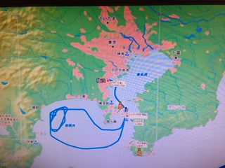 航路図 現在の位置