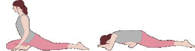 痛みを感じる前にお尻の筋肉を伸ばすストレッチ