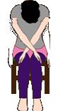 肩甲骨のまわりを伸ばすストレッチ