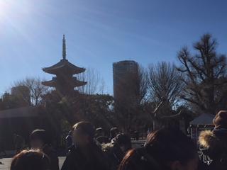東園の五重塔