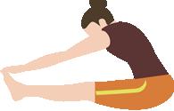 前屈運動で血管の硬さを調べてみよう