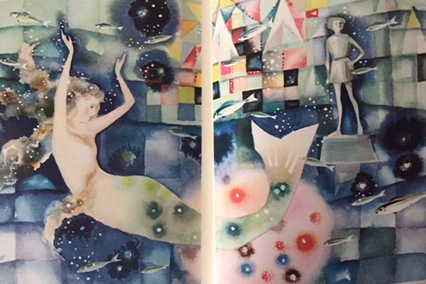 アンデルセン、人魚姫挿絵:昭和の名残、少年少女文学全集のお宝度はいかに?こんなん出ましたよ