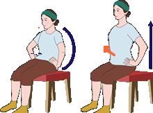 骨盤おこし体操で良い姿勢を保つ