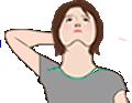 呼吸筋ストレッチ 首まわりの筋肉を伸ばします