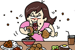 ヤセ体質細胞を増やし、食欲を押さえる食べ方は